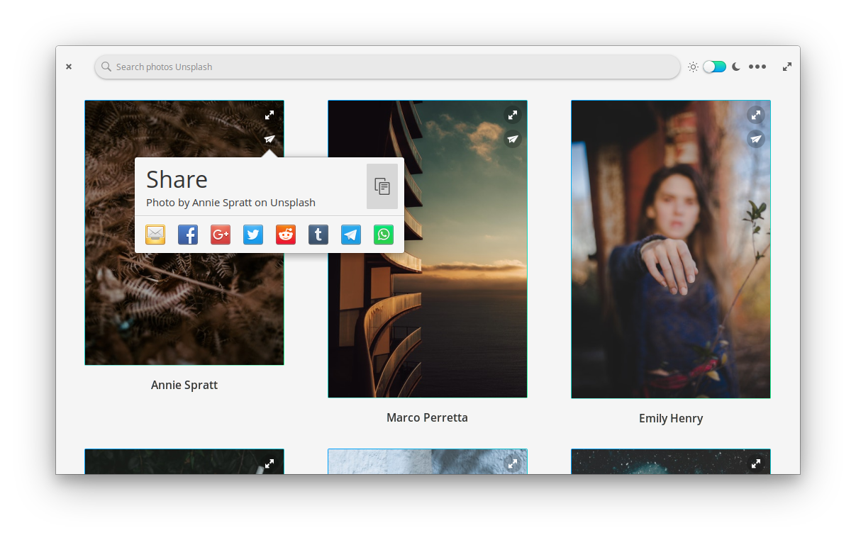 Super streamlined sharing of photos