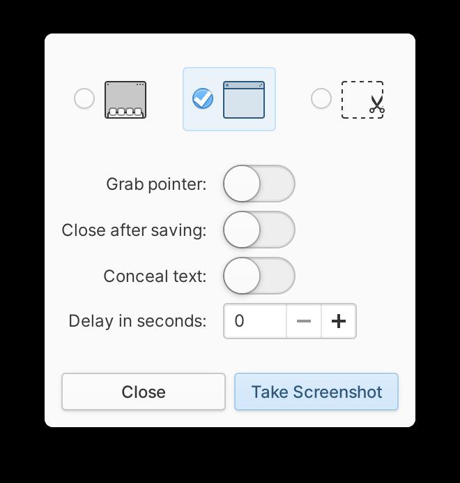 Utilidad de captura de pantalla