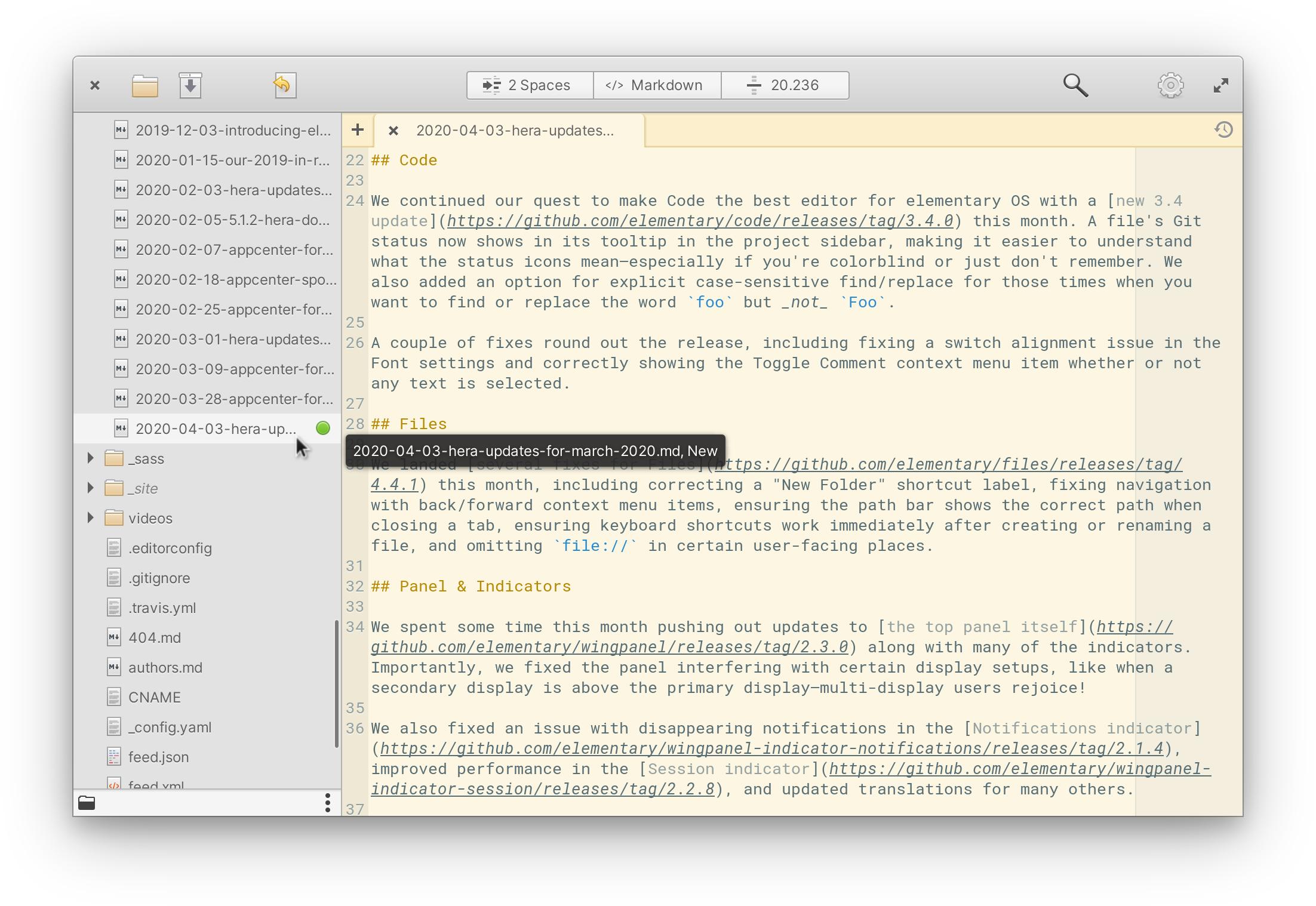 Тук е Elementary OS 5.1.3 1