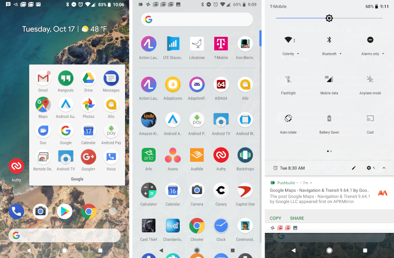 Pixel Launcher Light