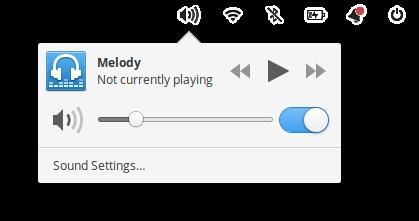Music indicator